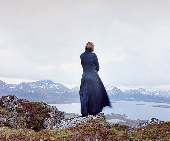 Elina Brotherus, Der Wanderer 2, 2004 from the series