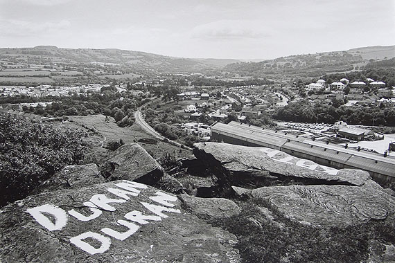 © John Davies - Penulta Rocks, Hengoed, Rhymney Valley, S. Wales, 1984.  Courtesy of Michael Hoppen Contemporary.