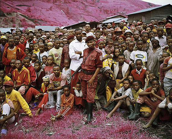 Richard Mosse, Tutsi Town, North Kivu, Eastern Congo, 2010Digital C-type, facemounted to plexi, mounted on dibond183 x 244 cmRichard Mosse courtesy The Empty Gallery