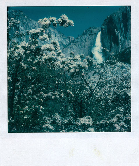Ansel AdamsYosemite Falls1979, Polaroid SX-70© The Ansel Adams Publishing Rights Trust