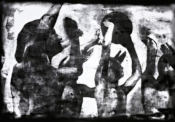 Matt SaundersVolleyball #1, 2010-2011, silver gelatin print on fiber-based paper 102 cm x 148 cm, Commissioned by Sharjah Art Foundationcourtesy the artist and Harris Lieberman, NY