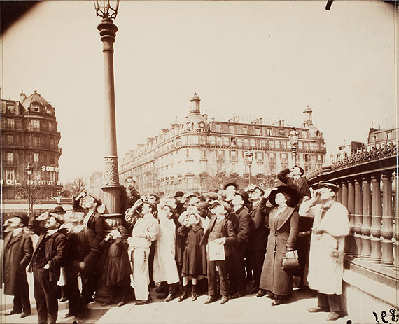 Zonsverduistering, april 1912 © Eugène Atget / George Eastman House