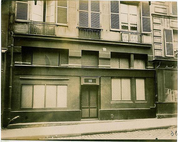Eugène AtgetLe Palace, 10 rue Mazet à Paris 6ème en 1921