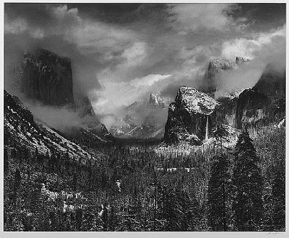 Ansel AdamsClearing Winter Storm, 1944Gelatin silver printEstimate: $20,000-30,000