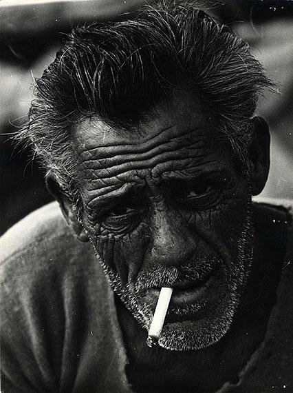 Alessandro Novaro. The head fisherman, Puglia, 1959
