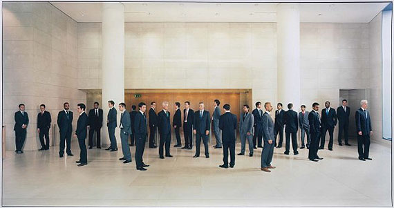 Mitra TabrizianIran/EnglandCity, London 2008Type C photograph122 x 250cmPurchased 2010 with a special allocation from the Queensland Art Gallery FoundationCollection: Queensland Art Gallery