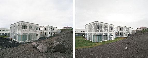 Diptych Reykjavík development area 2010,2011© Olaf Otto Becker, courtesy Galerie f 5,6