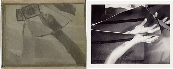 Negative, fünfteilig, 1997© Ursula KelmCourtesy Deutsches Haus at NYU