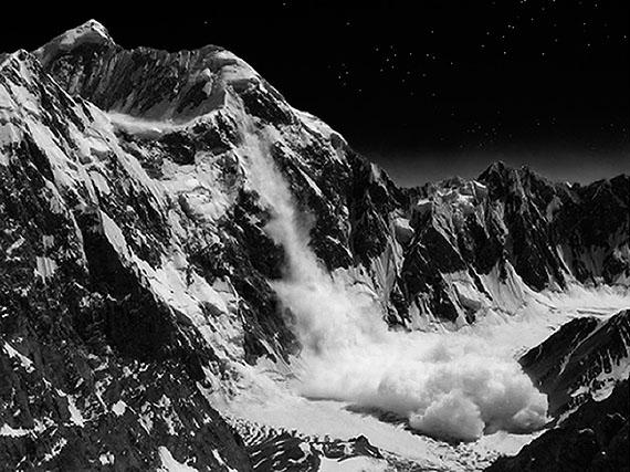 arno roncada: avalanche at night