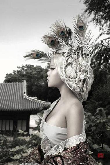 Dorothy M. Yoon, Rococo Series, Yeebee 2010 © Dorothy M. Yoon Courtesy Galerie Paris-Beijing