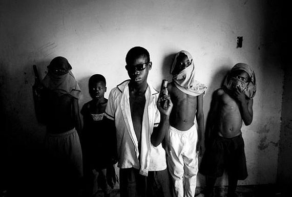 © Paolo Pellegrin/Magnum Photos/Contrasto. Baby Gang in Port-au-Prince. Haiti 2006