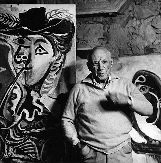 © Kurt Wyss, Pablo Picasso, 1967Courtesy Johanna Breede PHOTOKUNST