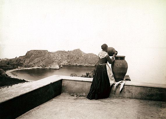 Giovanni Crupi. Island at the Cape of St.Andrew. Taormina, ca.1890