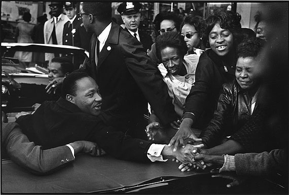 1964, Baltimore/Martin Luther King © Leonard Freed/Magnum Photos/Courtesy °CLAIR Gallery