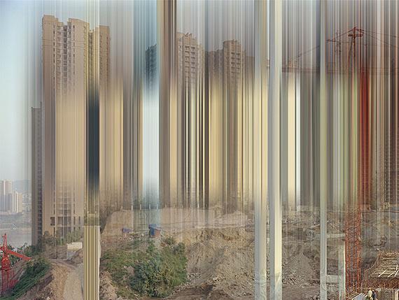 © Ralf Brueck: Golden Cage, 2011, 210 x 170 cm, c-print, plexiglass, woodframe