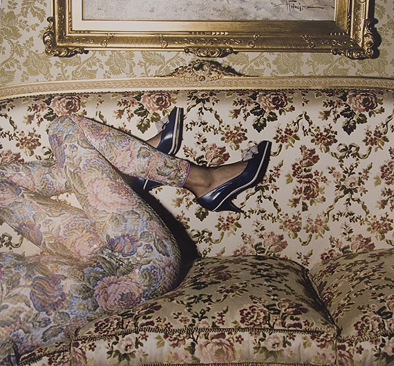 © Guy Bourdin - Photo France, July 1987.  Copyright Estate of Guy Bourdin.  Reproduced by permission.  Courtesy of the Michael Hoppen Gallery.