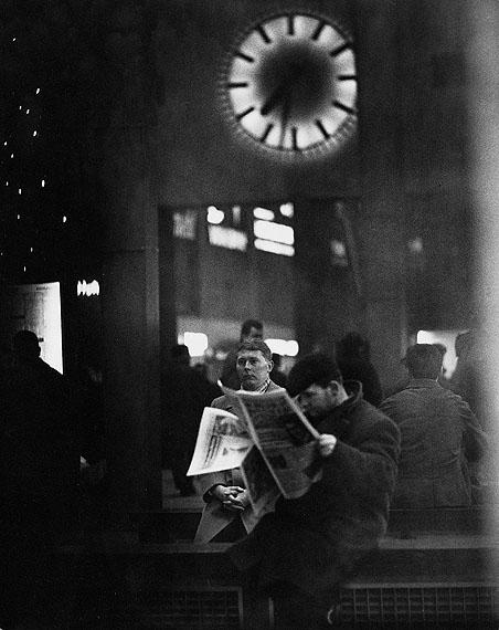 """© Hannes Kilian, """"Hauptbahnhof Stuttgart"""" 1964"""