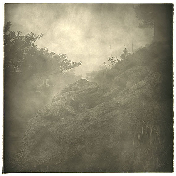 "LU Yanpeng: ""Fog - Stone and Grass""(2008-2010) Pigment print on fine art paper50x50cm - Edition of 10; 90x90cm - Edition of 6; Box Set of 12: 30.5x45cm - Edition of 8.© LU Yanpeng. Courtesy of m97 Gallery."