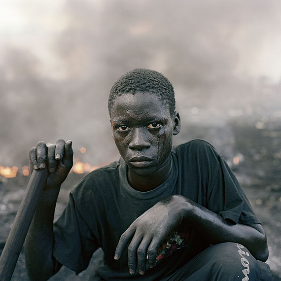 Pieter Hugo, Abdulai Yahaya, Agbogbloshie Market, Accra, Ghana, 2010 From the series Permanent Error© Courtesy of Stevenson Gallery, Cape Town / Yossi Milo, New York