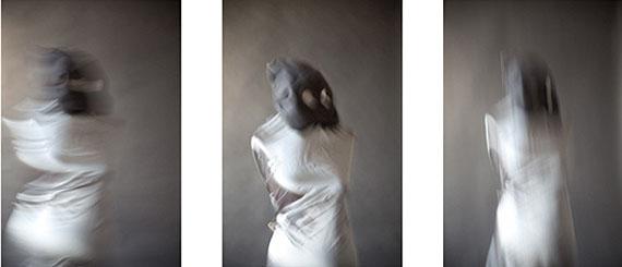 Tor Seidel, Portrait 6.11.11 (Tryptich), 2012