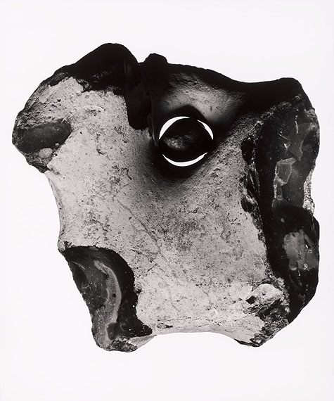 Flint nodule, approx. 86 million years old © Christian von Alvensleben: Gelatin silver, handmade enlargement, selenium toned, 50 x 60 cm, limited edition of 2 prints + 1 AP