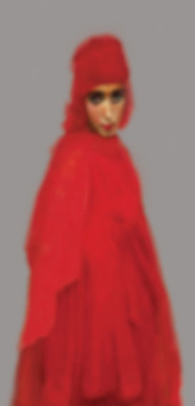 "Halim Al-KarimUntitled 1 (from the Series ""King's Harem"")2008Lambda print170 x 75 cmCollection: Barjeel Art FoundationCourtesy: XVA Gallery"