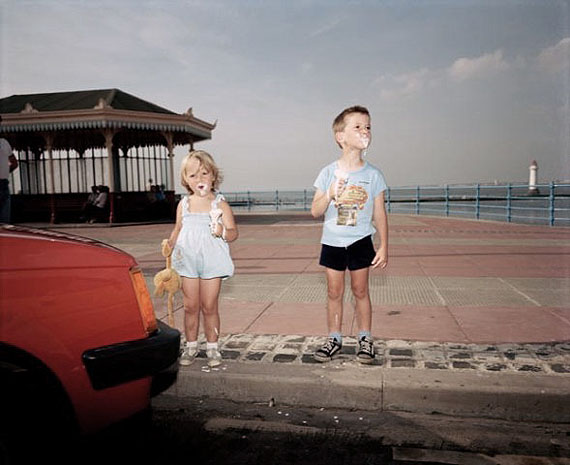 Martin Parr. From the series The Last Resort: Photographs of New Brighton. 1983-1985 Courtesy of Martin Parr / Magnum Photos