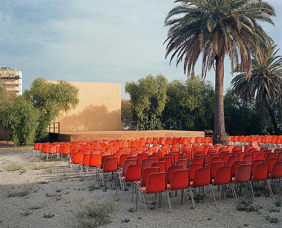 Wim Wenders, Open-Air Screen, 2007, C-Print, 186 x 213 cm.© Wim Wenders. Courtesy Wenders Images