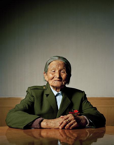 Liu Tianyou (91), Teilnehmerin am Langen Marsch © Mathias Braschler und Monika Fischer