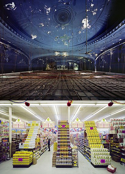 Gotham Theater, above + below, New York, NY, USA, 2009