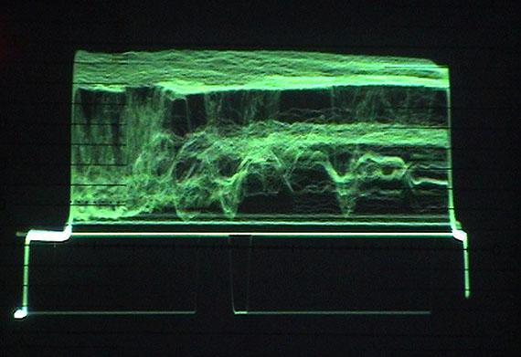 """Christine de la Garenne – level – 3'222"""" Loop, Farbe, Ton, D, 2002  – © Christine de la Garenne"""