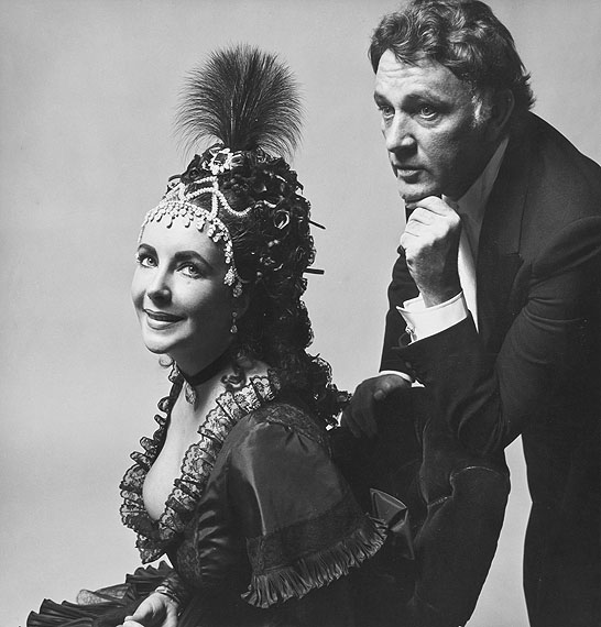 Cecil Beaton Elizabeth Taylor and Richard Burton at the Rothschild Proust Ball, 1971Signed vintage gelatin silver print£8,000 - 12,000