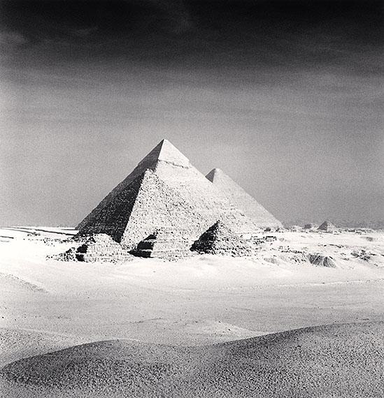 Michael KennaGiza Pyramids, Study 6, Cairo, Egypt, 2009Edition of 45Silver Gelatin Print, Sepia tonedca. 20 x 20 cm