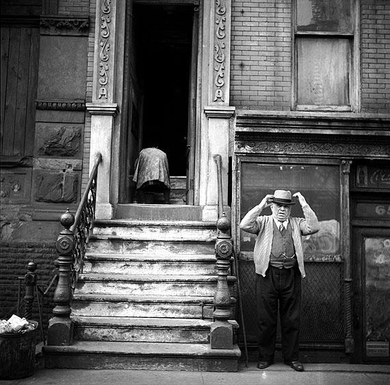New York City. 1948. Lower East Side © Erich Hartmann/Magnum Photos