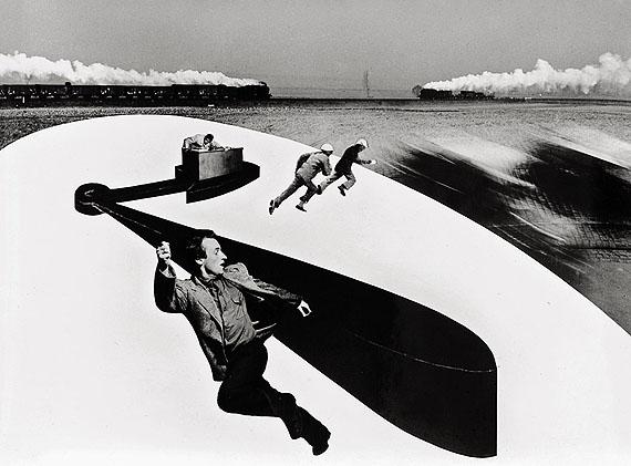 Peter Keetman. Photomontage. 1953. Vintage gelatin silver print