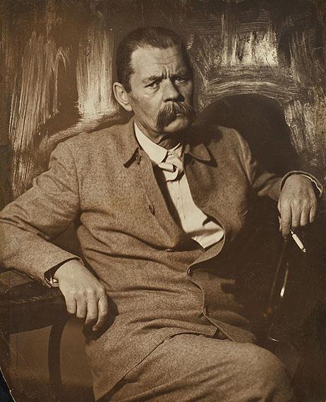 Maxim Gorki, ca. 1930, vintage print, 54,5 x 45 cm  © Nappelbaum Estate