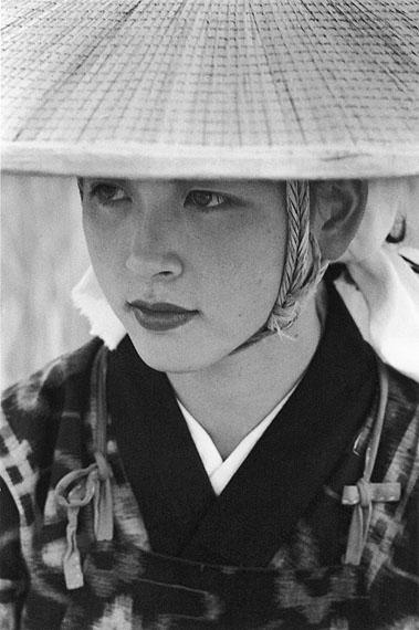 Ihee Kimura, Young woman, Omagari, Akita 1953