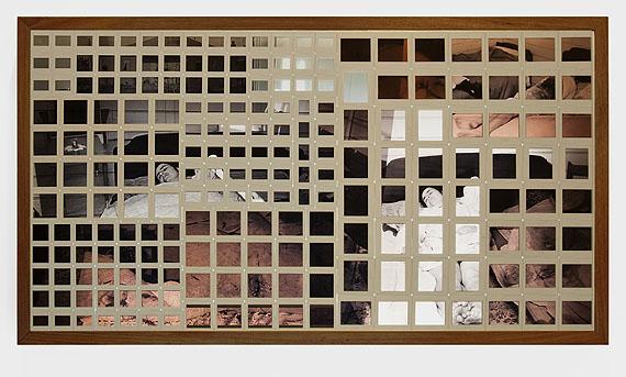Rosângela RennóApagamento #2 (caixa) [Erasure #2 (box)], 2005(detail)Slides in wooden and acrylic light box, 75 x 135 x 15 cmCollection Américo Marques, LisbonPhoto: Thiago Barros© Rosângela Rennó