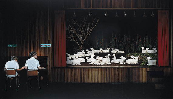 Anthony Goicolea, Recital, chromogenic print on Plexiglas mount, 2001.Estimate $12,000 to $18,000.© Anthony Goicolea