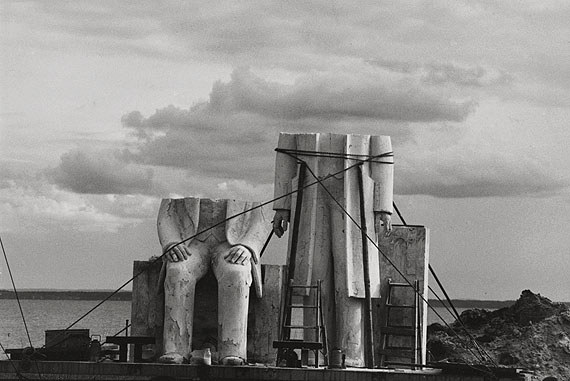 Sibylle Bergemann Marx-Engels-Denkmal, 1975-86©Nachlass Sibylle Bergemann, Ostkreuz