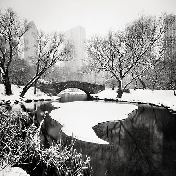Snow Capped Central Park Study 1, 2011 © Josef Hoflehner