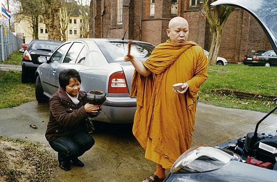 Dortmund 2009, Buddhismus, Wat Dhammabharami, Autoweihe