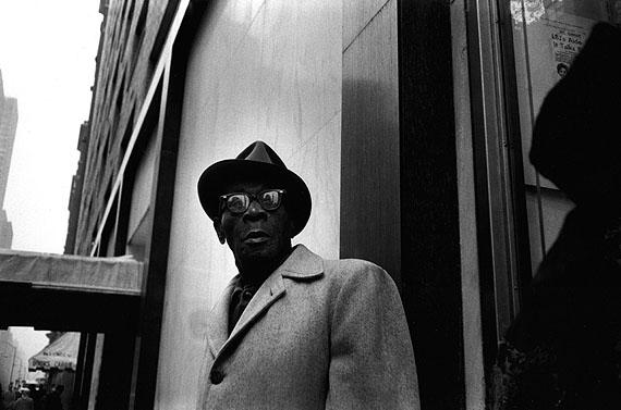 Norbert Bunge: Straßenszene Harlem, 1972