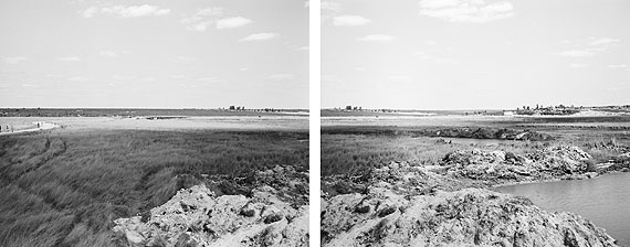 Jo Ractliffe - The Battlefield at Cuito (Diptych)