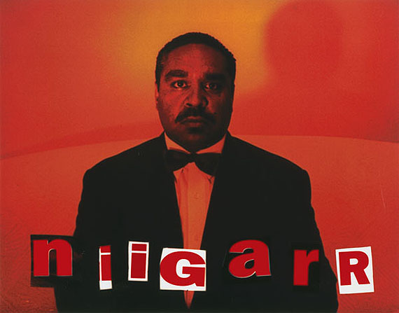 Niigarr, 1995from They call me niigarrHigh gloss pigment print31 x 39.5cm, Edition of 10© MICHAEL RILEY