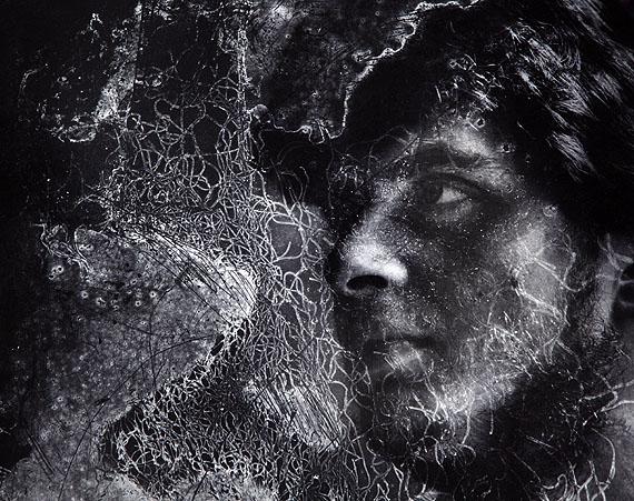 Edward Hartwig: Porträt des Enkels, 198829,3 x 37,4 cmBaryt Print (Vintage)© Edward Hartwig Estate