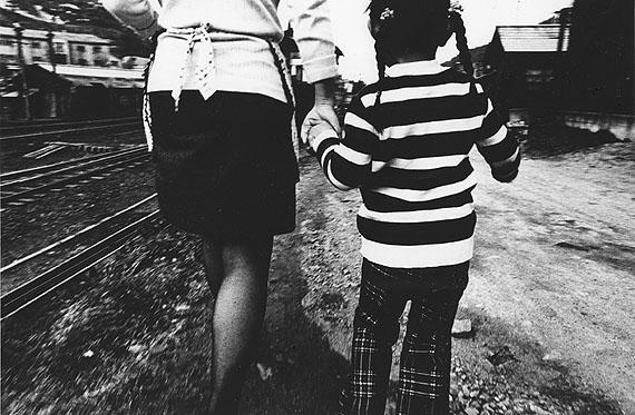 Daido Moriyama, Hokkaido, Japan, 1973 © Daido Moriyama, courtesy Polka Galerie Gelatin silver print on baryta, 1000 x 1500 mm, signed on print verso in alphabet and Japanese