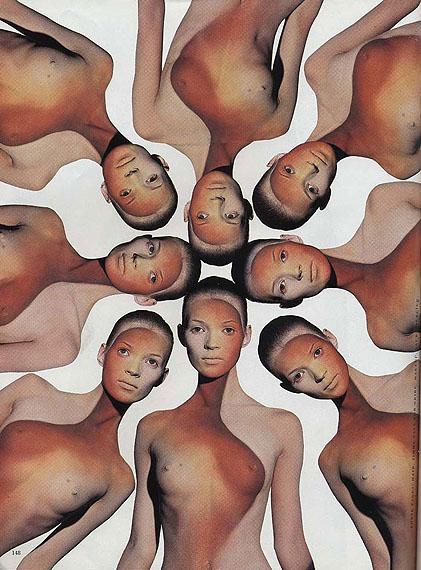 ©Michael Thompson: Kaleidoscope (Kate Moss), New York 1993, 127x102 cm, Edition 5