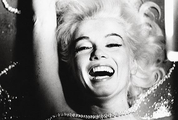 Marilyn Monroe, Portrait, lachend, 1962 © Bert Stern/Courtesy Sammlung Reichelt und Brockmann Mannheim