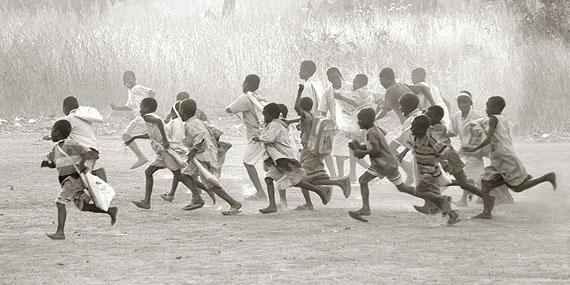 Cotton made in Africa School, Benin, 2011 © Albert Watson